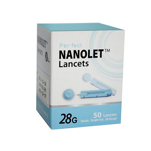 Nanolet-lancete-28G