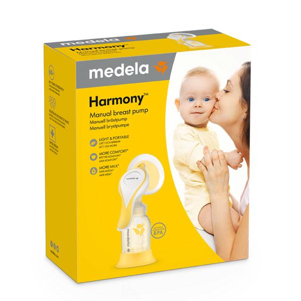 Medela-Harmony-flex-rucna-izdajalica-s-dvofaznom-tehnologijom-pakiranje-prednja-strana-dr-pharma